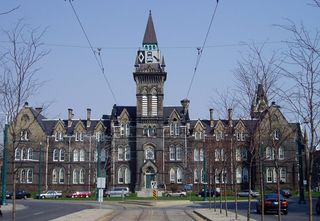 1 Spadina Crescent Academic building of the University of Toronto in Toronto, Ontario, Canada
