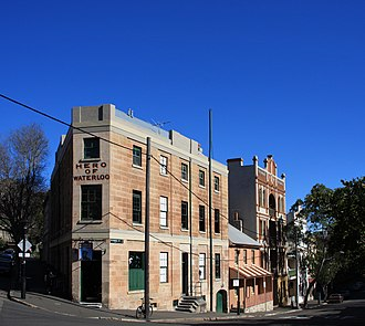 Millers Point, New South Wales - Image: 1 hero of waterloo