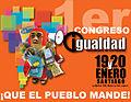 1er Congreso Igualdad, Herramienta de los Pueblos, 19 y 20 enero 2013, Santiago.jpg