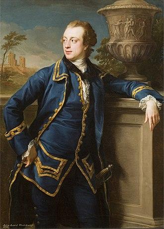 Earl of Kimberley - John Wodehouse, 1st Baron Wodehouse, at age 23
