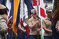 1st MLG carry state flags for Padres game DVIDS564720.jpg