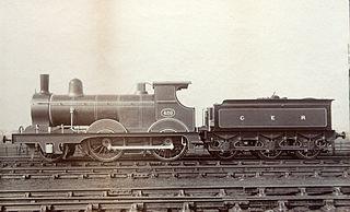GER Class T26 class of 100 British 2-4-0 locomotives, later LNER class E4