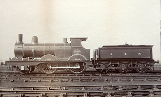 Great Eastern Railway - GER Class T26 no 420 2-4-0 (later LNER Class E4)