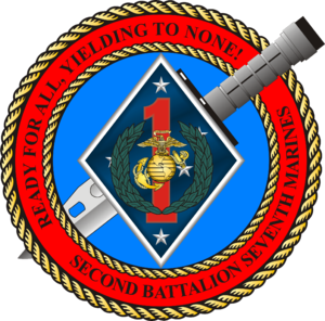 2nd Battalion, 7th Marines - 2nd Battalion, 7th Marines insignia