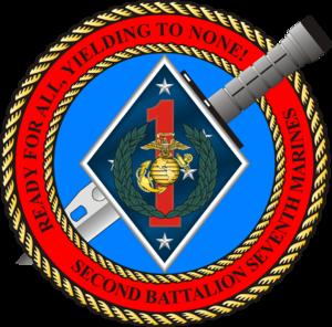 2nd Battalion, 7th Marines - 2nd Battalion, 7th Marines insignia