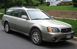 2003–2004 Subaru Outback Limited wagon