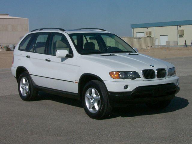 2003 BMW X5 3.0i -- NHTSA 01