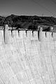 2006-08-17 - Road Trip - Day 25 - United States - Nevada - Hoover Dam - Black and White 4889494460.jpg