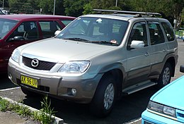 2006 Mazda Tribute (MY06) Luxury V6 wagon (2007-11-16).jpg