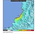 2007 Gorgona Island earthquake ShakeMap.jpg