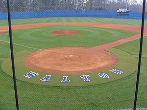 "George Walton Comprehensive High School - Walton High School ""Raider Mountain"" baseball field"