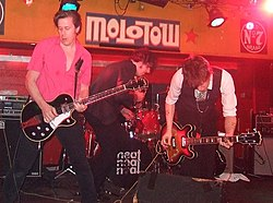 The Jim Jones Revue, 2008 in Hamburg, Molotow