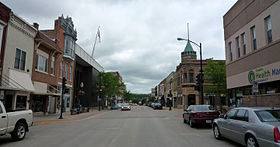 خط الأفق لـ Decorah, Iowa