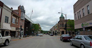 Decorah, Iowa - Downtown Decorah