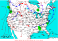 2009-07-13 Surface Weather Map NOAA.png