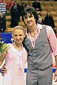 2009 Skate Canada Pairs - Maria MUKHORTOVA - Maxim TRANKOV - Silver Medal - 4725a.jpg