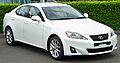 2010-2011 Lexus IS 250 (GSE20R MY11) Prestige sedan (2011-04-22) 01.jpg
