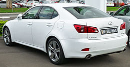 2010-2011 Lexus IS 350 (GSE21R MY11) Sports Luxury sedan (2011-04-22).jpg