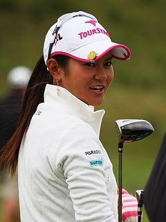 Ai Miyazato Japanese golfer