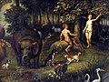 2011-03-26 Aschaffenburg 027 Schloss Johannisburg, Staatsgalerie, Jacob Bouttats - Das Paradies (6091301094).jpg