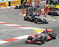 2011 Monaco GP Lewis Heikki Nick.jpg