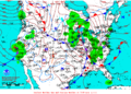 2012-01-23 Surface Weather Map NOAA.png