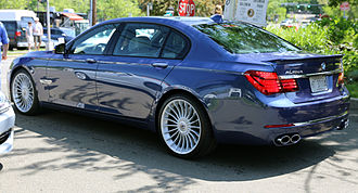 Alpina - 2013 Alpina B7, based on the F02 model BMW. Lightly facelifted for 2013.