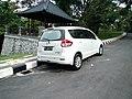 2013 Suzuki Ertiga GL (rear), Candikuning.jpg
