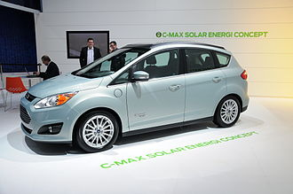 Ford C-Max - Ford C-Max Solar Energi concept exhibited at the 2014 Geneva Motor Show