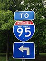 2014-05-16 15 35 20 Sign for Interstate 95 on River Road (New Jersey Route 175) in Ewing, New Jersey.JPG
