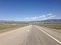 2014-06-11 14 43 37 View east along Interstate 80 from around milepost 350 near Wells, Nevada.JPG