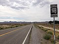 2014-07-28 09 40 35 First reassurance sign along southbound Nevada State Route 361 (Gabbs Valley Road) in Middlegate, Nevada.JPG