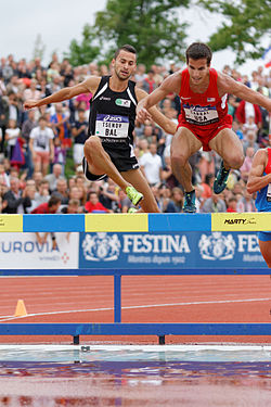 2014 DécaNation - 3000 m steeplechase 02.jpg
