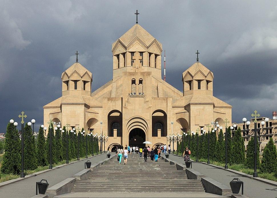 2014 Erywań, Katedra św. Grzegorza Oświeciciela (05)