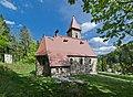 2014 Międzygórze, kościół Krzyża Świętego 04.JPG