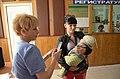 2015-09-02. Эвакуация детей из Донецка на лечение в Москву 062.jpg
