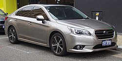 2015 Subaru Liberty (MY15) 3.6R sedan (2017-07-15) 01.jpg