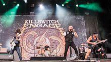 I Killswitch Engage al Rock im Park 2016