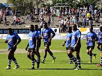 Fiji Warriors - Fiji Warriors team at the 2016 Americas Pacific Challenge in Uruguay.