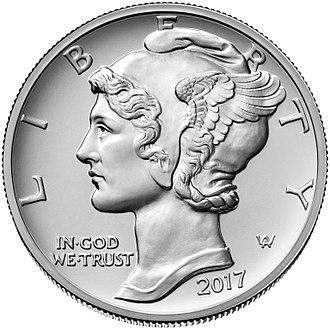 American Palladium Eagle - Image: 2017 $25 Palladium obverse
