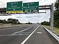 2018-10-02 13 34 52 View west along New Jersey State Route 76C (Walt Whitman Bridge Connector) just east of Interstate 76 and Interstate 676 (North-South Freeway) in Camden, Camden County, New Jersey.jpg