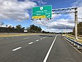 2018-10-29 14 09 09 View north along Virginia State Route 286 (Fairfax County Parkway) at the exit for Virginia State Route 7 EAST-Leesburg Pike in Dranesville, Fairfax County, Virginia.jpg