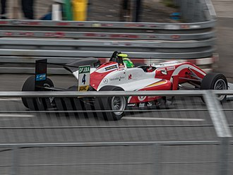 Mick Schumacher - Mick Schumacher during the FIA Formula 3 round at Norisring in 2018.
