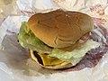 2019-01-23 18 39 29 A Wendy's Junior Bacon Cheeseburger in Dunn Loring, Fairfax County, Virginia.jpg