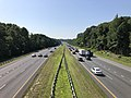 2019-07-25 09 52 36 View south along Interstate 97 (Patuxent Freeway) from the overpass for Millersville Road in Severn Crossroads, Anne Arundel County, Maryland.jpg