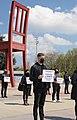 20 Protesters in Geneva demand the release of Armenian POWs, 15 April 2021.jpg