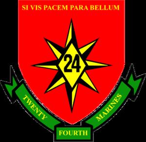 24th Marine Regiment (United States) - 24th Marine Regiment Insignia