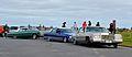 2x Cadillac's & 1964 Chevrolet Impala (28869251762).jpg