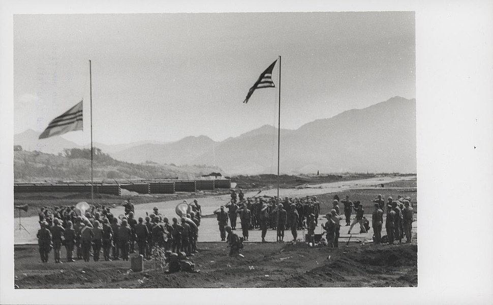 3.4 Marines memorial service at Khe Sanh Combat Base