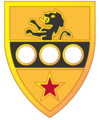 305th Cavalry Regiment (United States) - Image: 305th Cavalry Regiment DUI